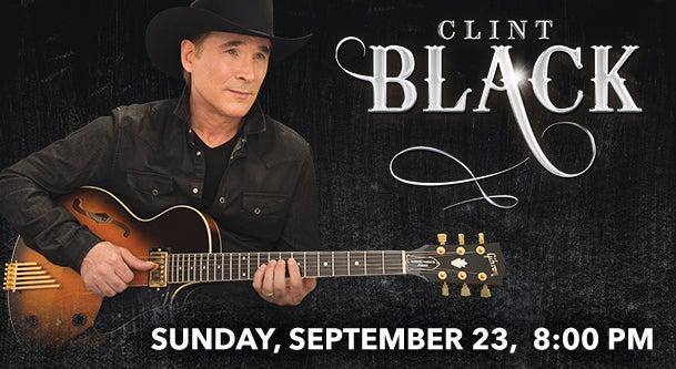 clint black genesee theatre