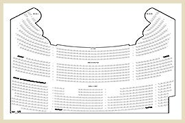 Seating chart genesee theatre